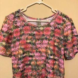 Lularoe Carly Dress Size 3XL